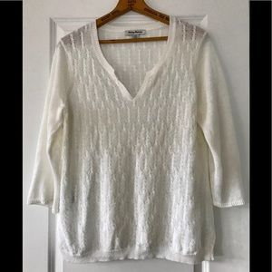 Tommy Bahama linen loose-fit pullover sweater